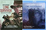 Courage True Events Revenant Wilderness 2 Blu-Ray Bundle & Lone Survivor Navy Seals Steelbook Double Feature Movie Bundle