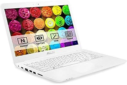 PC portátil – Asus EeeBook e402sa-wx126t blanco – Intel Celeron N3060 4 GB SSD