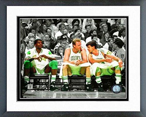 Boston Photograph Celtics Mchale - NBA Robert Parish, Larry Bird, Kevin McHale Boston Celtics Action Photo (Size: 12.5