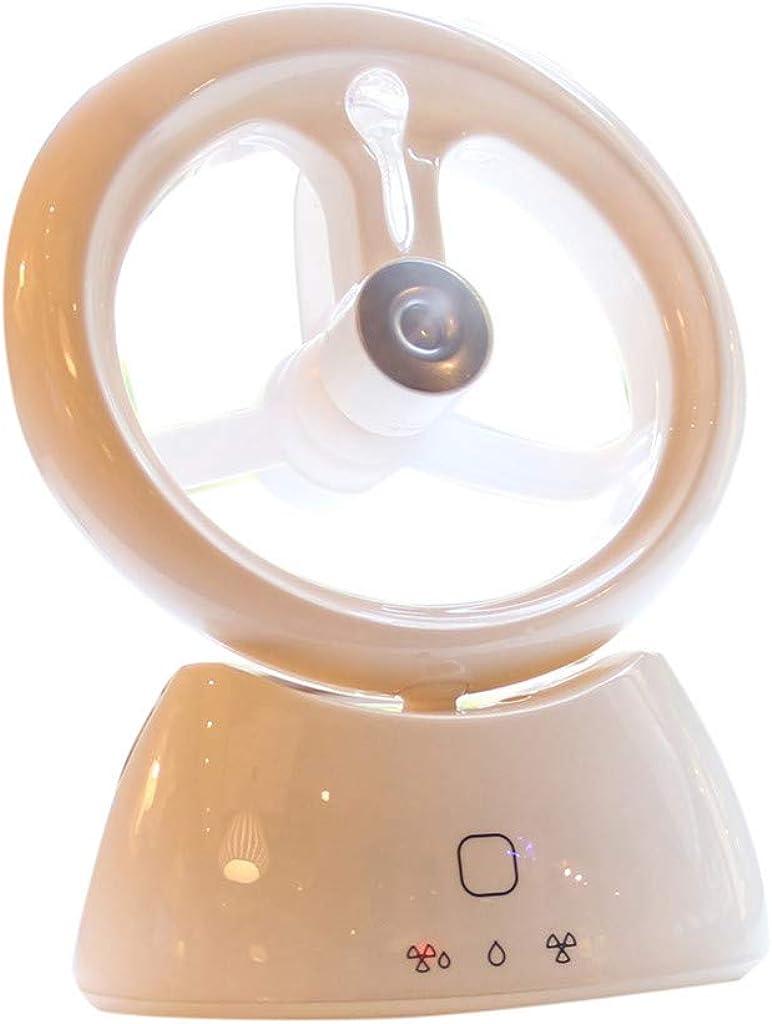 Mini Ventilador USB Silencioso,JiaMeng Humidificador portátil de ...