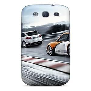 Snap-on Case Designed For Galaxy S3- Porsche Trio