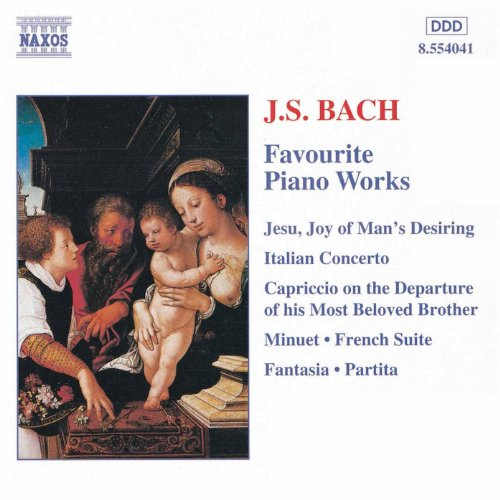 Bach, J.S.: Favourite Piano Works (Bach Piano Music)