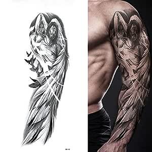 Tatuaje de brazo completo de 5 piezas, adhesivo de tatuaje ...