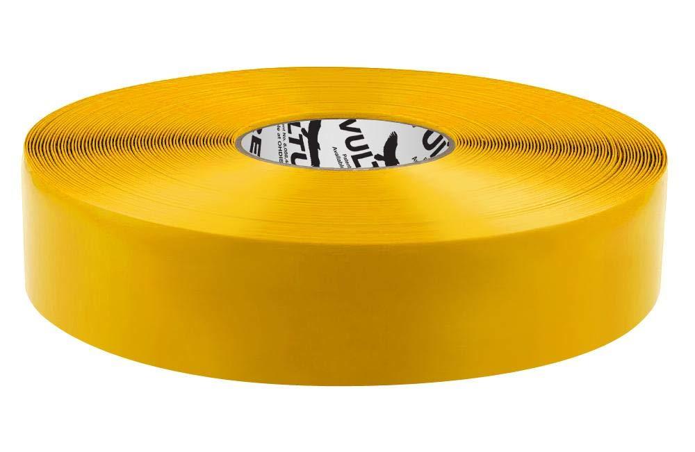 Cinta adhesiva amarilla Vulture para marcar el suelo, rollo ...