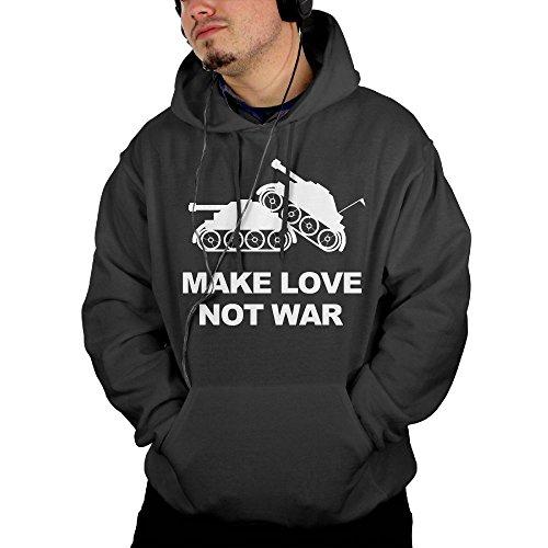 make love not war hoodie - 2