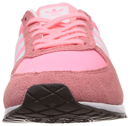 adidas Originals Adistar Racer, Sneakers basses femme Rose (light Flash Red S15/ftwr White/core Black)