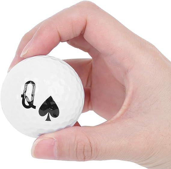 Bolas de Golf de Póquer, 5 Piezas Bolas de Póker 10/J/Q/K/A Juego ...