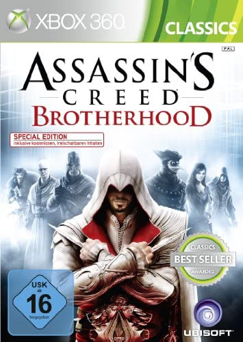 Assassins Creed Brotherhood [Classic] [Importación alemana]: Amazon.es: Videojuegos