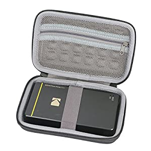 Hard Travel Case for Kodak Mini / Mini 2 HD / Mini SHOT Wireless Mobile Instant Photo Printer w/4PASS Patented Printing Technology by co2CREA