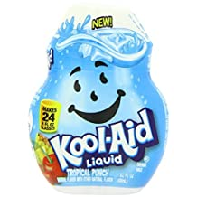 Kool-Aid, Liquid Drink Mix, Tropical Punch, 1.62oz Container (Pack of 4) by Kool-Aid