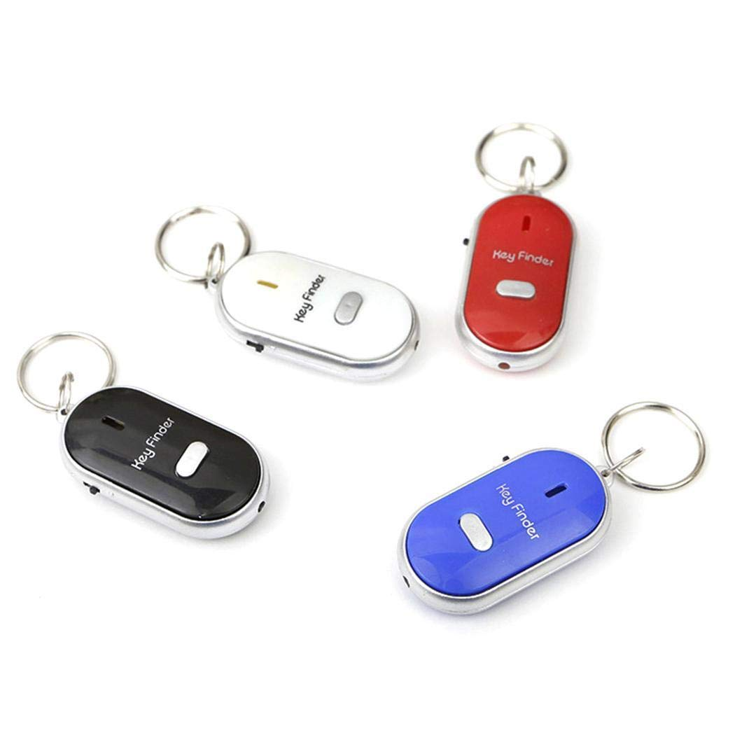 Whistle Sonido LED Llave Visor Locator Encuentre Pérdida de llaves con llavero: Amazon.es: Grandes electrodomésticos
