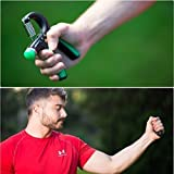 Norse-Strength-Hand-Grip-Exerciser-Kit-Adjustable-Gripper-22-88-Lbs-with-2-Strengthener-Squeeze-Rings-Arm-Exercise-Trainer-for-Men-Women-and-Kids