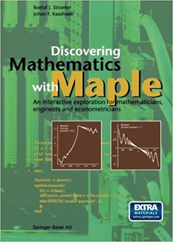 Discovering Mathematics with Maple: An interactive exploration for ...