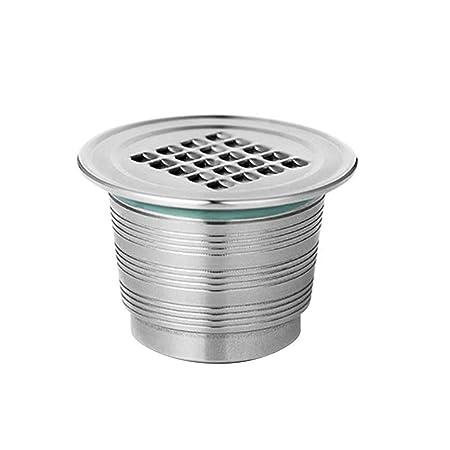 AILHL Cápsulas Reutilizables Filtro de café con filtros de ...