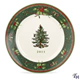 Spode Christmas Tree Annual 2011 Collector's Plate, 8-Inch