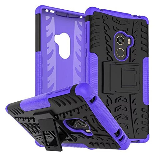 Price comparison product image Xiaomi Mi Mix Case, Ngift [Purplr] [Kickstand] [Heavy Duty] [Dual Layer] Hybrid Shock Proof Fully Protective Case for Xiaomi Mi Mix