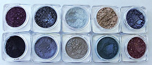 Grace My Face Minerals- New Eyeshadow Collection- London - New My Shades