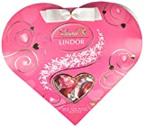 LINDOR Valentine Milk with White Chocolate Mini Gift Heart, 3.4oz