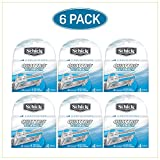 Schick Quattro Titanium Razor Blade Refills for Men - 24 Cartridges