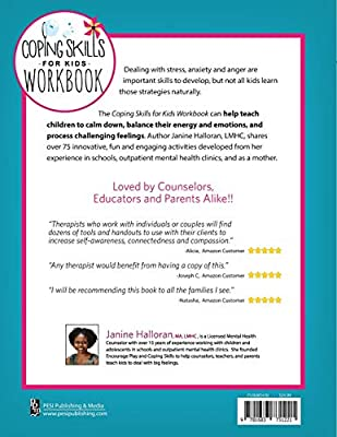 Coping Skills for Kids Workbook: Over 75 Coping Strategies