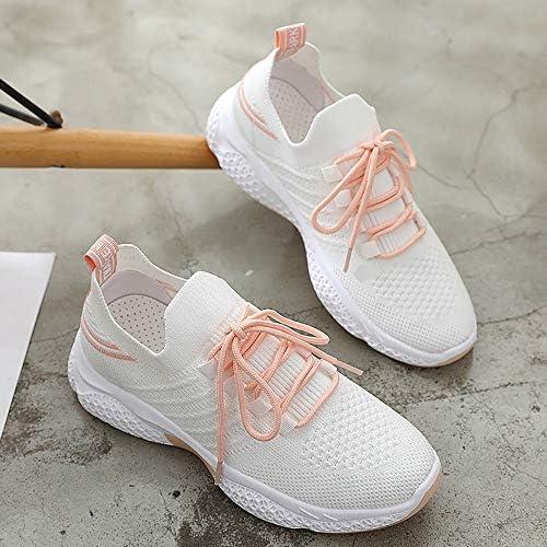 FHOMDOD Chaussures de Sport for Dames, Chaussures à Lacets Sport Respirant, Adapté for l'escalade, Jogging, Marche, Fitness, Sports et Loisirs (Size : 37EU)