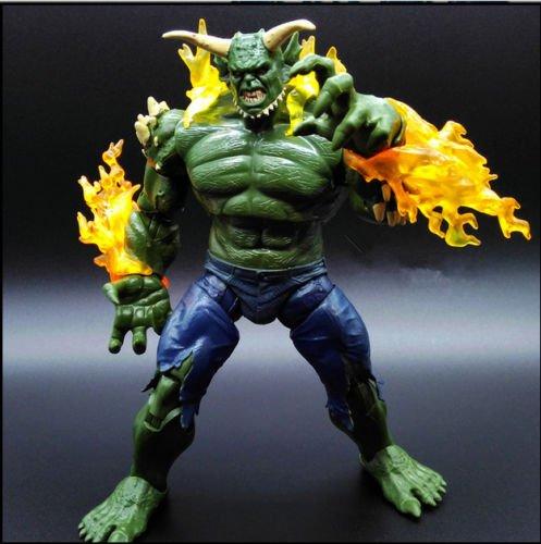 [Marvel Legends Infinite Series Spiderman Green Goblin BAF Loose Action Figure 8