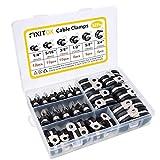 Cable Clamps Assortment Kit, FIXITOK 52pcs 304