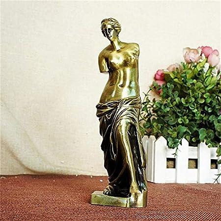 Figurine Figurines Statue Statues Statuette Sculptures Buddha Metal Venus Goddess Works Art Figures Sculpture Statue Crafts Alloy Metal Venus Goddess Desk Figurines & Miniatures Craft