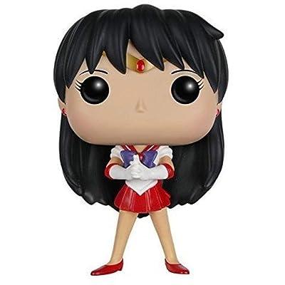 Funko POP Anime: Sailor Moon - Sailor Mars Action Figure: Funko Pop! Animation:: Toys & Games
