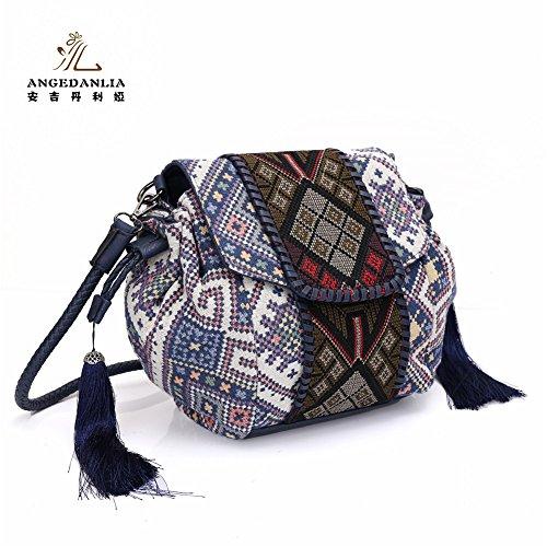 Blue Purse Woman Angedanlia Boho 3371 Bag Handmade Crossbody Bag Hippie Bohemian qAOwBB