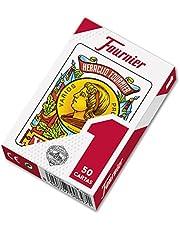Fournier F20991 - Baraja española Nº 1, 50 cartas, surtido: colores aleatorios