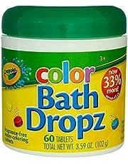 Crayola Color Bath Dropz 3.59 Ounce (60 Tablets)