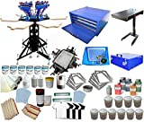 Full Set 6-6 Color Screen Printing Kit