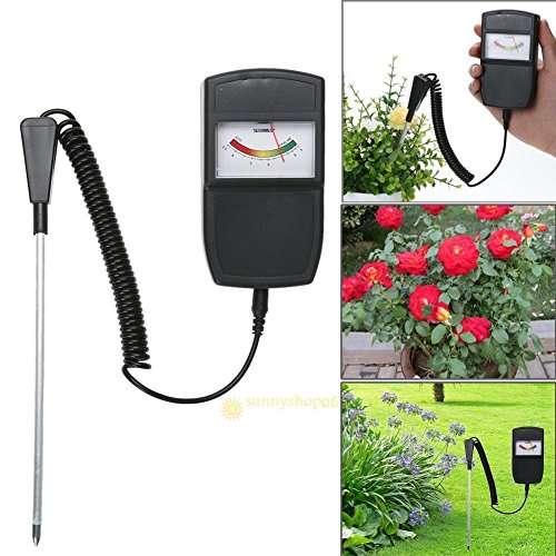 FidgetGear Professional Measuring Soil Moisture Meter PH Level Tester for Plants Flowers by FidgetGear