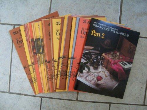 (Hal Leonard Organ Adventure: Organ Course for All Organs, Part 2 BOX SET [Instruction Book plus all sheet music] (Hal Leonard Organ Adventures))
