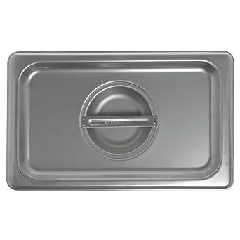 Amazon.com: Hubert 1/4 tamaño mesa de vapor cubierta sartén ...