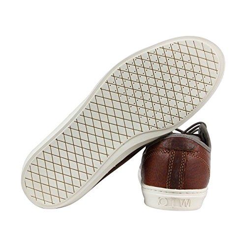 Vans Mens Ludlow Low Top Sneakers Stringate Moda Grigio / Marrone