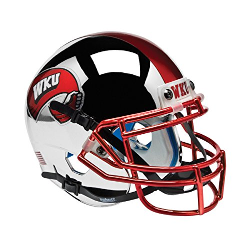 NCAA Western Kentucky Hilltoppers Authentic Helmet, One Size by Schutt