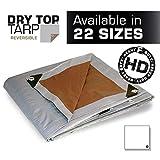 20x20 Multi-Purpose Silver/Brown Heavy Duty DRY TOP