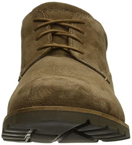Rockport Mens Sharp and Ready Colben Oxford New Vicuna Suede k9SvLz5wv8