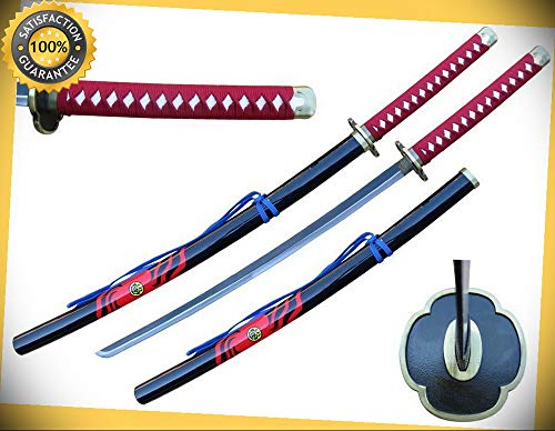 41'' Samurai Sword with Wood Scabbard Fantasy Cosplay Replica Touken perfect for cosplay outdoor -
