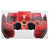 Liverpool FC Official Football Crest PS4 Controller Sticker Skin (PS4) (Red)