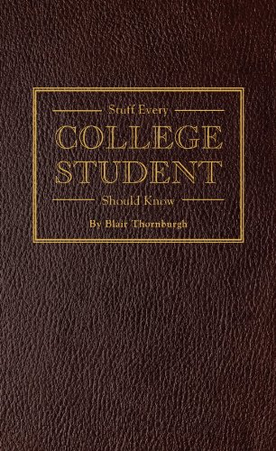 Stuff Every College Student Should ebook