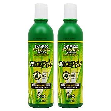 BOE Crece Pelo Shampoo Fitoterapeutico Natural (Natural Phitoterapeutic Shampoo) 13.2oz by BOE