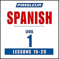 Spanish Level 1 Lessons 16-20