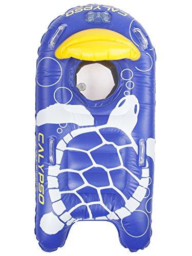 Sea Window Calypso Snorkeling Raft with Underwater Video Mount - Deluxe Swim Mask