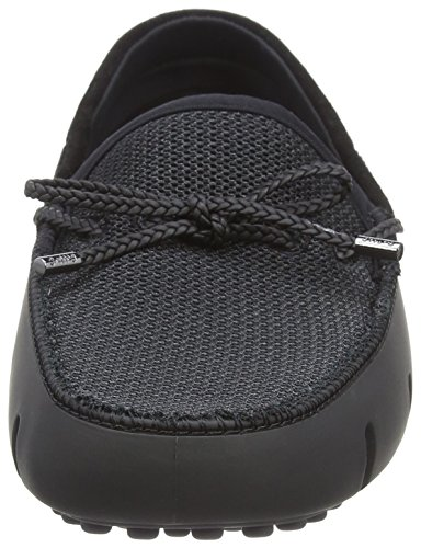 Hombre para Braided Swims Driver Graphite Lace Lux Loafer Mocasines Black Negro 0w1gYqZ