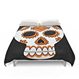 Society6 Dia De Los Muertos Mexican Skull Duvet Covers Full: 79'' x 79''