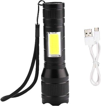 eecoo Linterna LED COB a Prueba de Agua, Luz de Camping ...