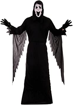Scream Halloween Costume - Adult one size (disfraz): Amazon.es ...